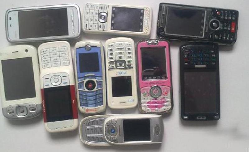 废弃手机拆解线